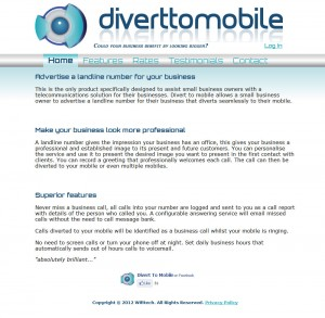 Divert to Mobile old website