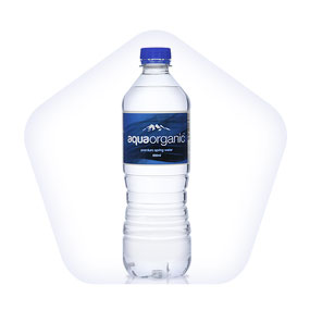 bottled water product photography