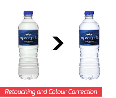 Retouching and Colour Correction