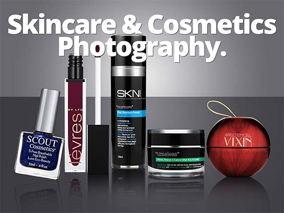 Skincare and Cosmetics Photography